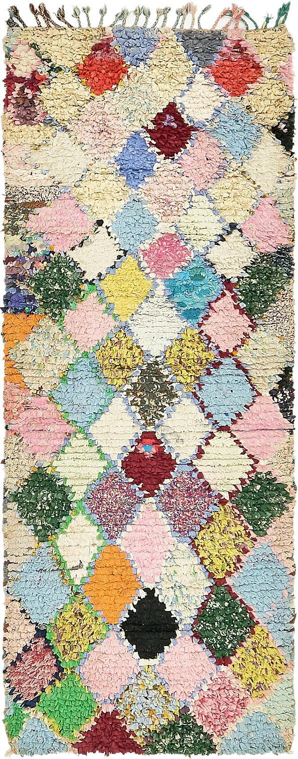 2u0027 8 x 6u0027 10 moroccan runner rug