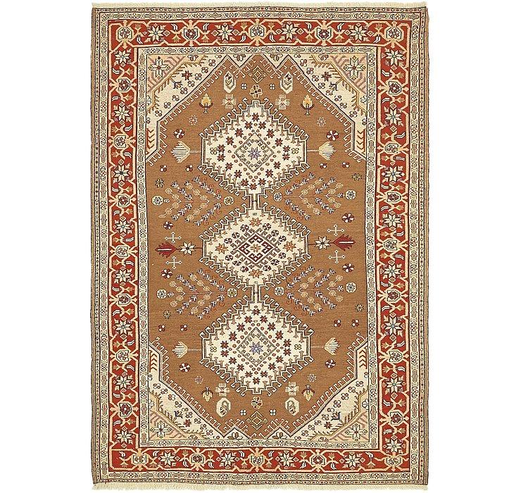 4' 5 x 6' 4 Sirjan Persian Rug
