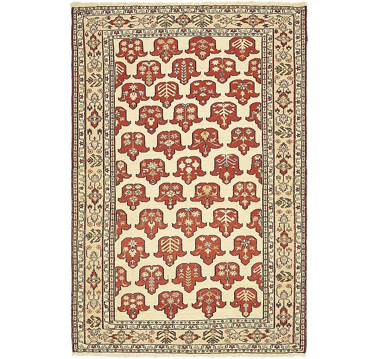 3' 9 x 5' 9 Sirjan Persian Rug