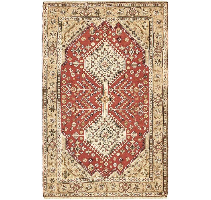 4' 2 x 6' 9 Sirjan Persian Rug