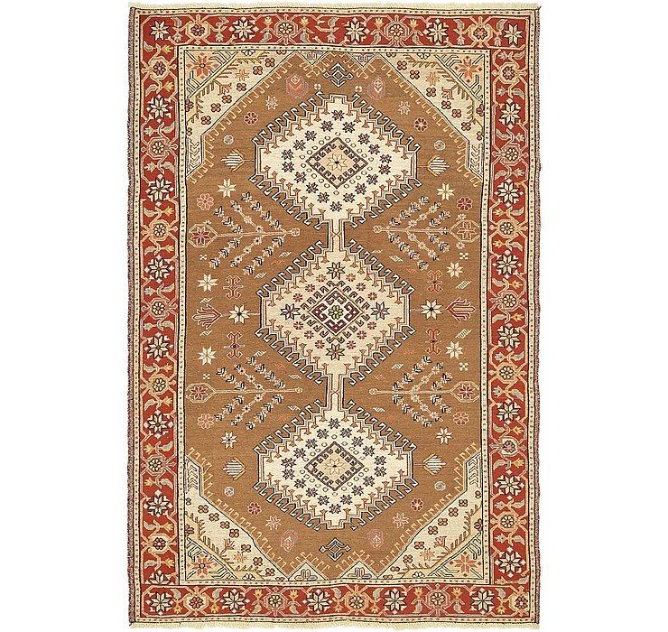 4' 2 x 6' 5 Sirjan Persian Rug