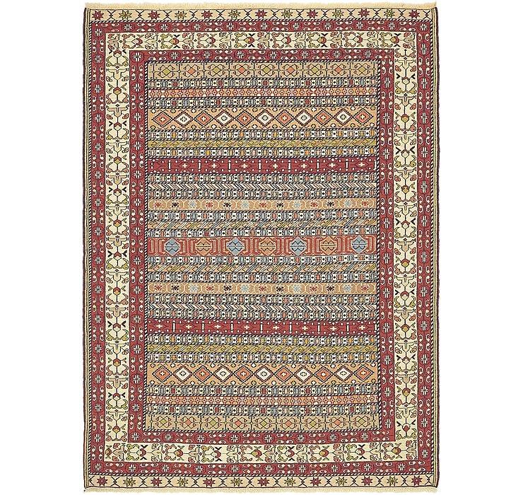 4' 7 x 6' 2 Sirjan Persian Rug