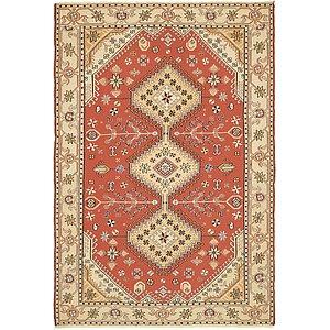 4' 3 x 6' 4 Sirjan Persian Rug
