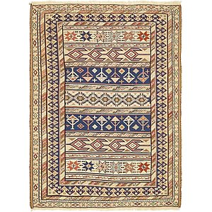 Unique Loom 3' 7 x 4' 10 Sirjan Persian Rug