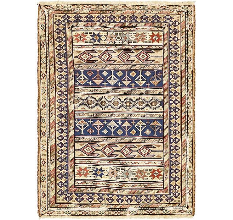 3' 7 x 4' 10 Sirjan Persian Rug