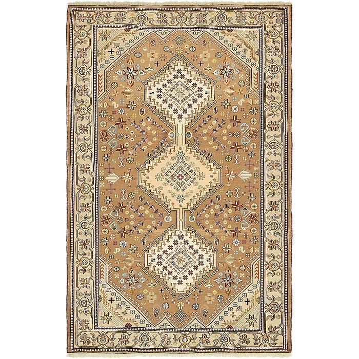 4' 2 x 6' 8 Sirjan Persian Rug