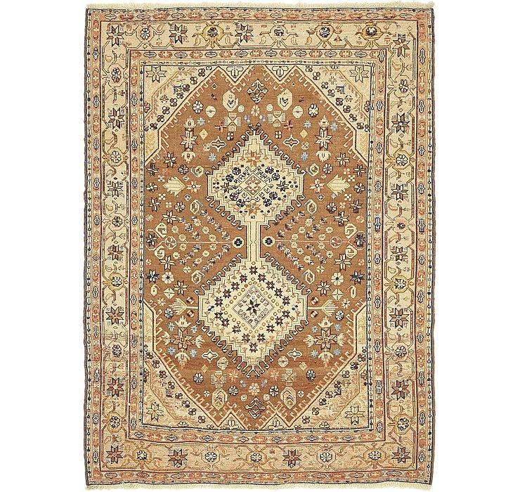 4' 4 x 5' 10 Sirjan Persian Rug
