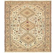 Link to 4' x 4' 5 Sirjan Persian Square Rug
