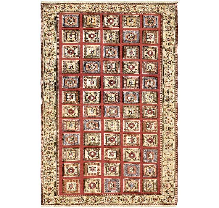 4' 2 x 6' 2 Sirjan Persian Rug
