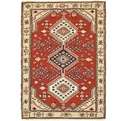Link to 122cm x 170cm Sirjan Persian Rug