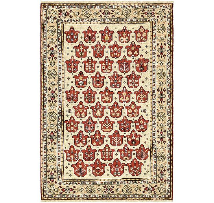 4' x 6' 2 Sirjan Persian Rug