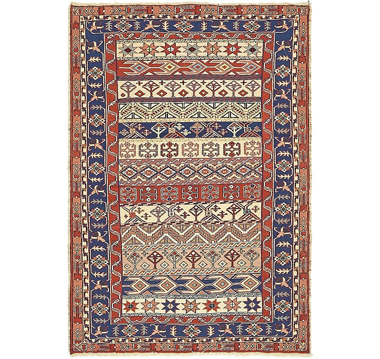 3' 10 x 5' 9 Sirjan Persian Rug