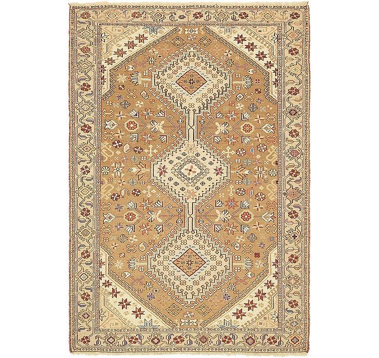 4' x 5' 10 Sirjan Persian Rug