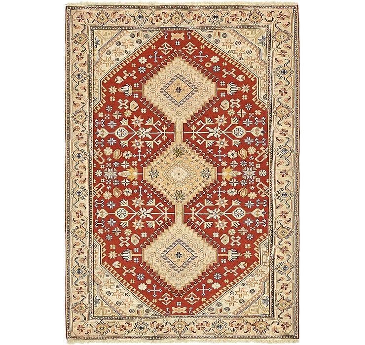 4' 6 x 6' 6 Sirjan Persian Rug