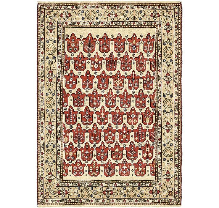 4' 3 x 6' Sirjan Persian Rug