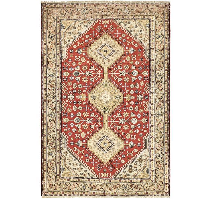 4' 8 x 7' Sirjan Persian Rug