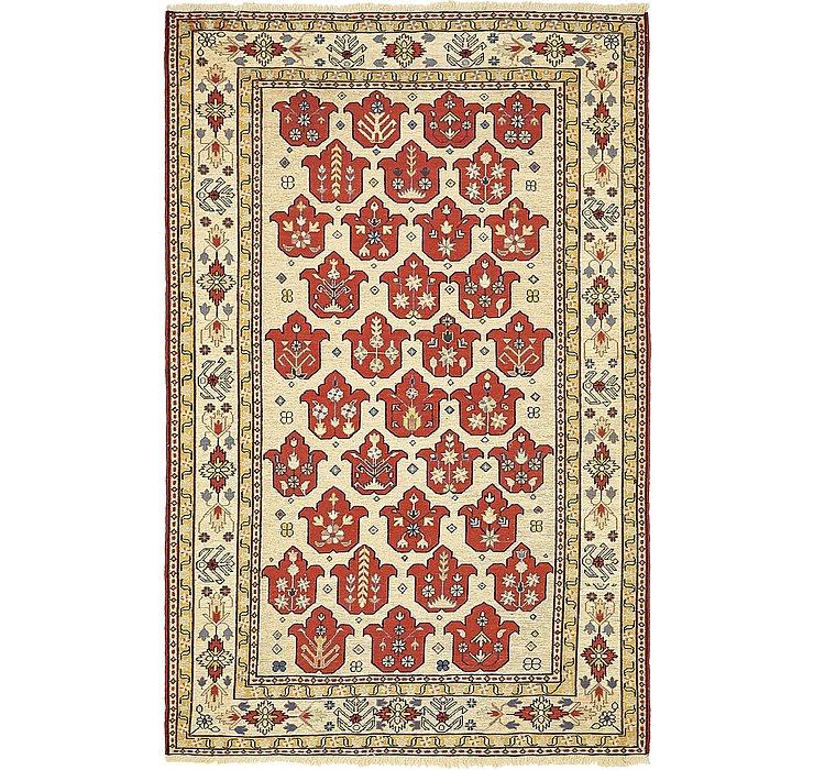 4' x 6' 3 Sirjan Persian Rug
