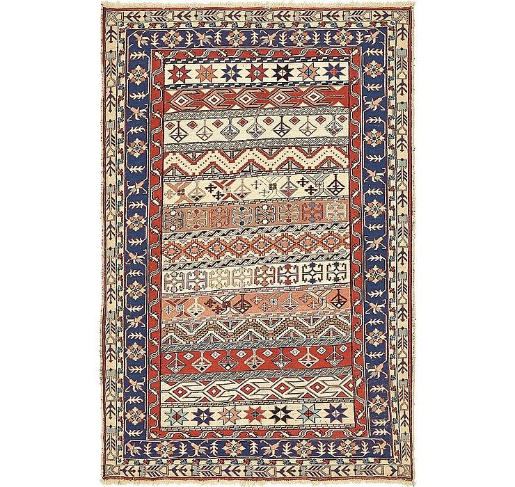 4' x 6' Sirjan Persian Rug
