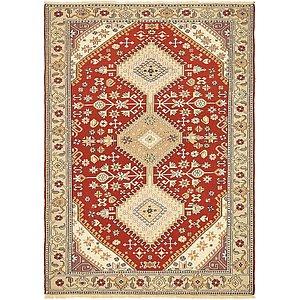 4' 2 x 5' 9 Sirjan Persian Rug