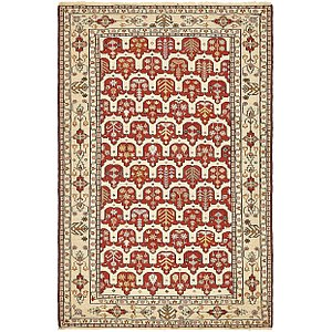 HandKnotted 4' 3 x 6' 4 Sirjan Persian Rug