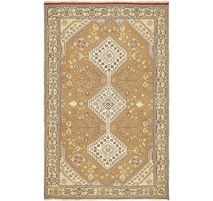 4' 3 x 6' 8 Sirjan Persian Rug