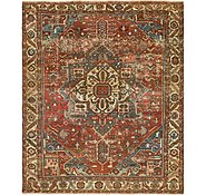 Link to 10' x 11' 8 Heriz Persian Rug