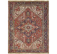 Link to 9' x 11' 9 Heriz Persian Rug
