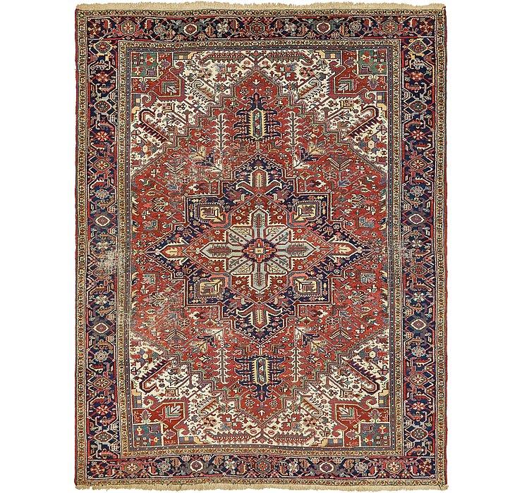 9' x 11' 9 Heriz Persian Rug
