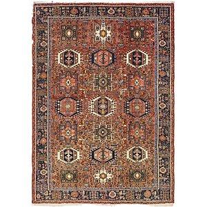 7' 9 x 11' Gharajeh Persian Rug