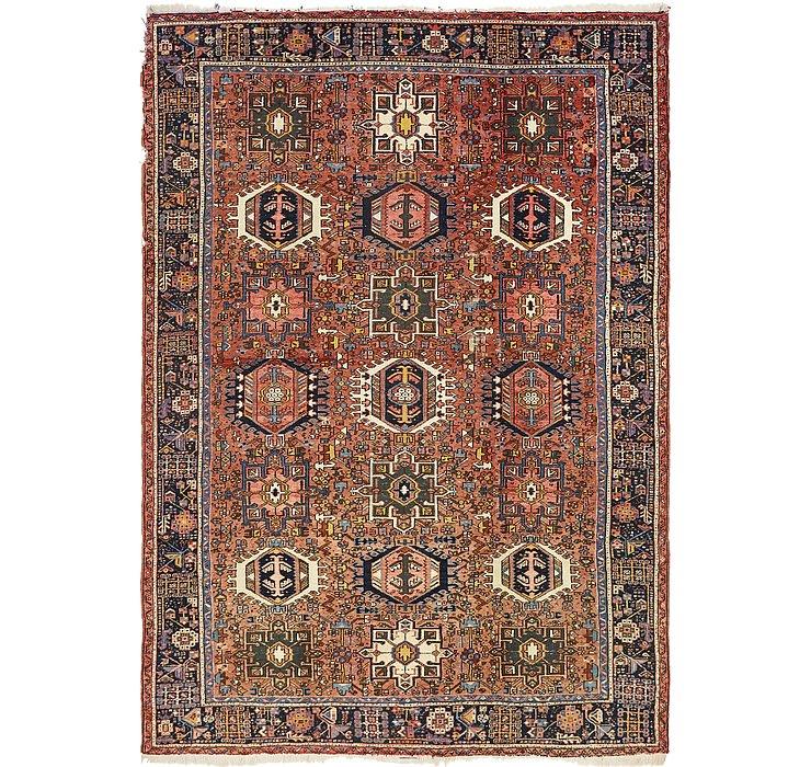 7' 9 x 11' Karaja Persian Rug