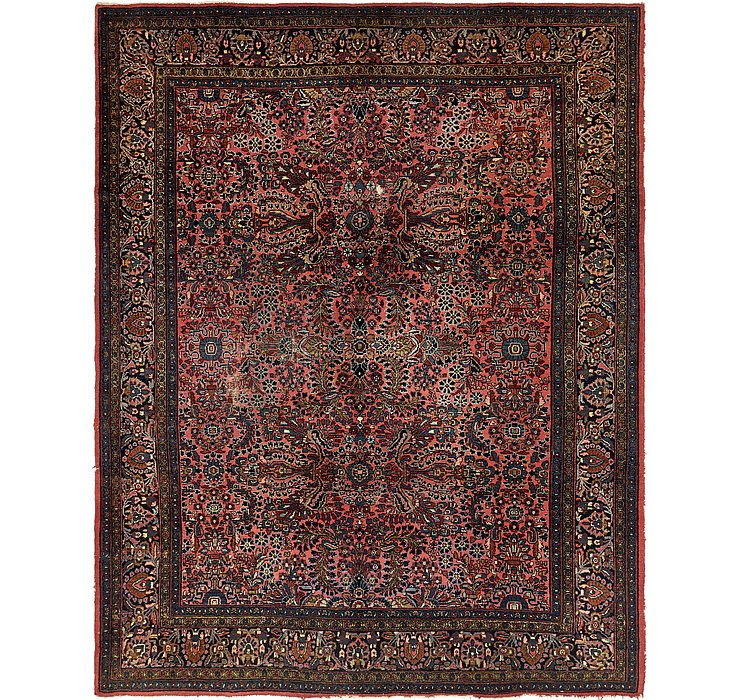HandKnotted 9' 5 x 11' 7 Liliyan Persian Rug