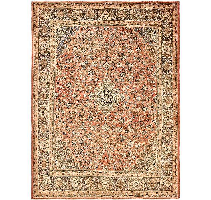 10' 6 x 13' 9 Sarough Persian Rug