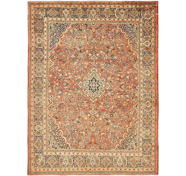 10' 6 x 13' 9 Sarough Persian Rug