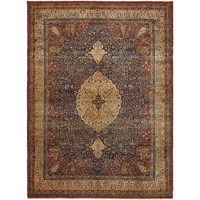 9' 10 x 13' 7 Tabriz Persian Rug