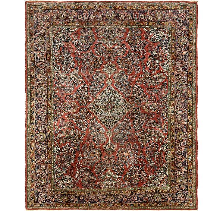 8' 2 x 10' Sarough Persian Rug