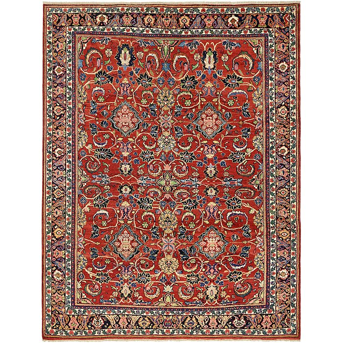 8' 10 x 11' 4 Sarough Persian Rug