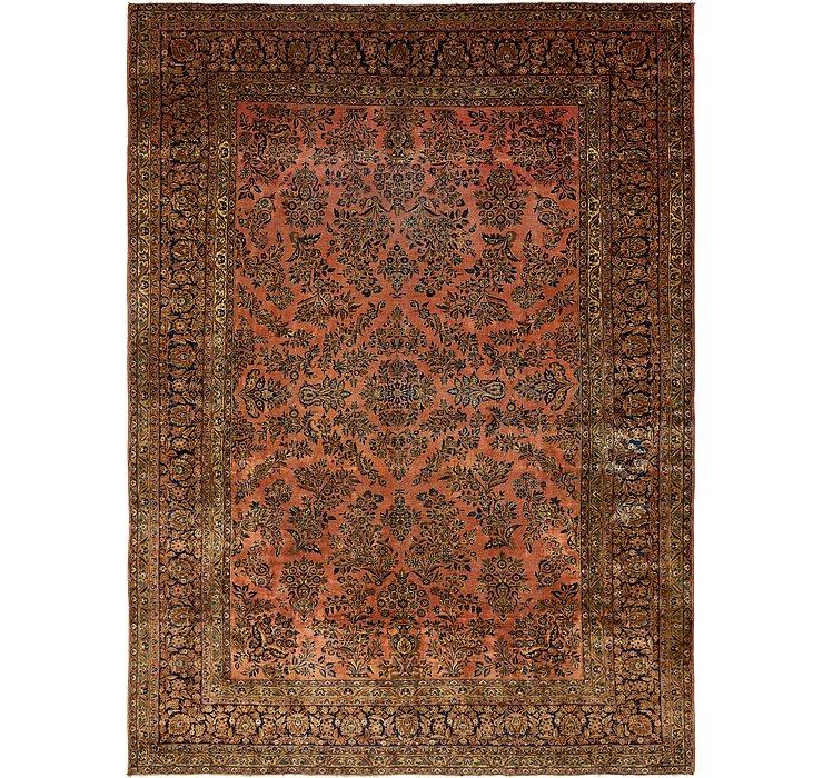 10' x 13' 10 Sarough Persian Rug