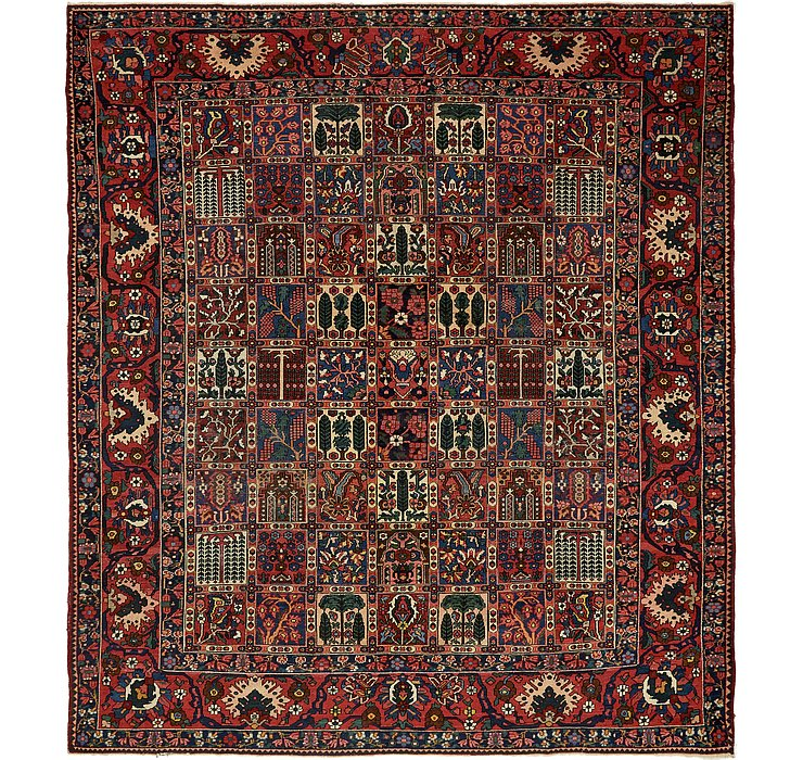 HandKnotted 11' x 12' 7 Bakhtiar Persian Rug