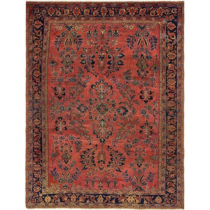 8' 10 x 11' 7 Sarough Persian Rug