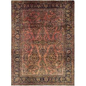 8' 8 x 11' 6 Sarough Persian Rug
