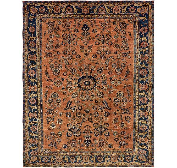 10' 2 x 12' 9 Sarough Persian Rug