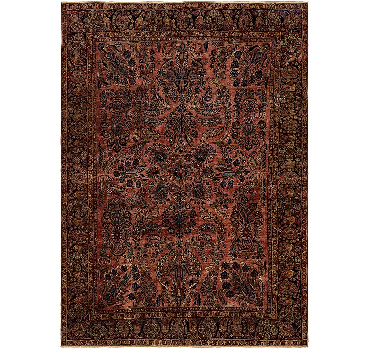 8' 2 x 11' 7 Sarough Persian Rug
