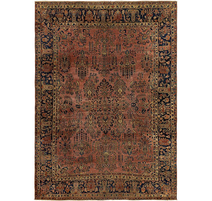 8' 10 x 12' Sarough Persian Rug