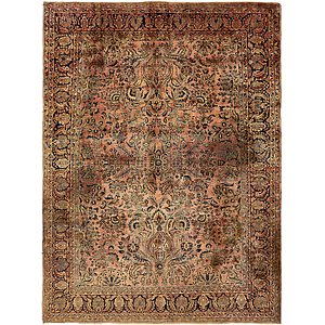 HandKnotted 8' 9 x 11' 7 Sarough Persian Rug