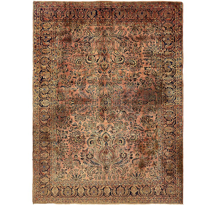 8' 9 x 11' 7 Sarough Persian Rug