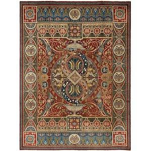 HandKnotted 8' 10 x 12' Tabriz Persian Rug
