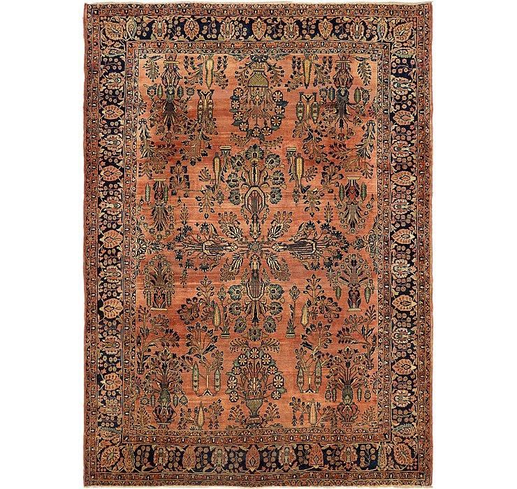 8' 10 x 11' 10 Sarough Persian Rug