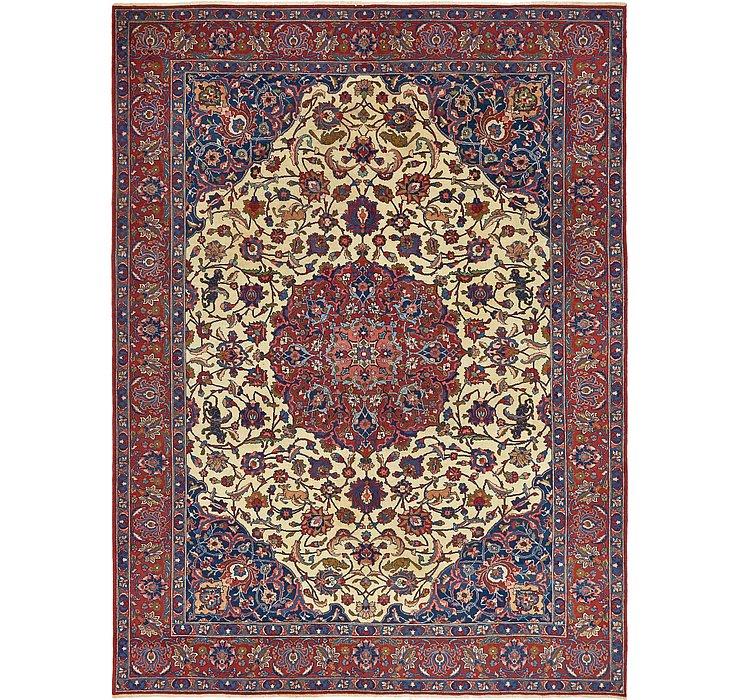 8' 7 x 11' 4 Isfahan Persian Rug