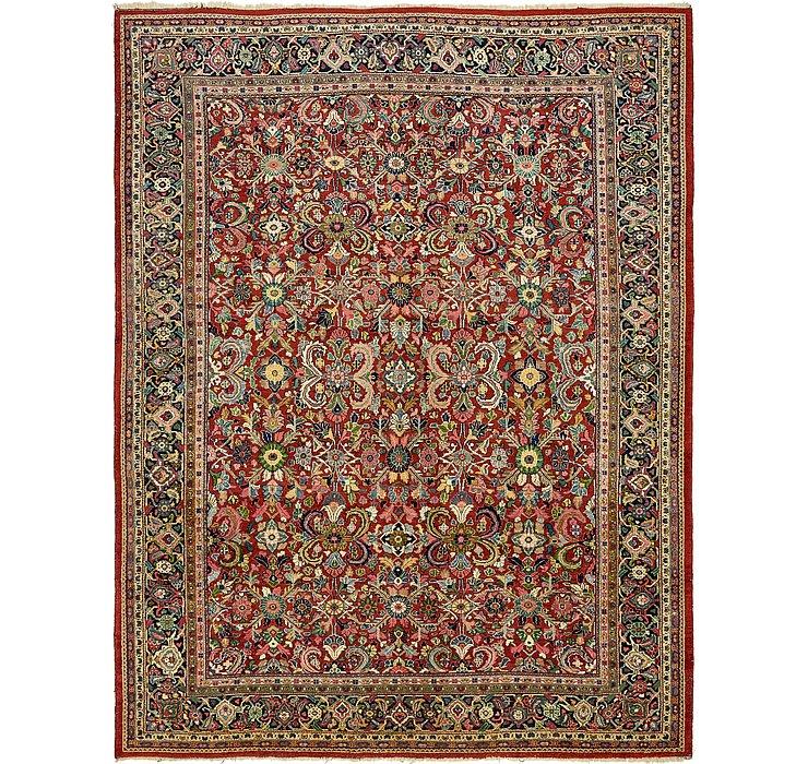 10' 5 x 13' 7 Meshkabad Persian Rug