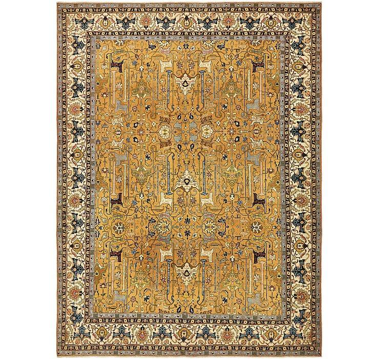 9' 7 x 13' 2 Tabriz Persian Rug